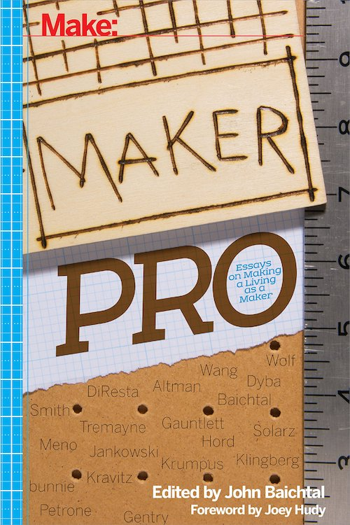 Cover of Maker Pro